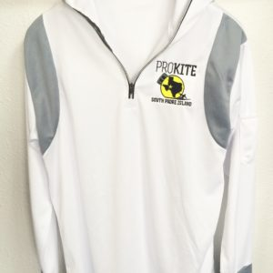 Prokite Hooded 1/4 Zip Long Sleeve SPF Surf Shirt